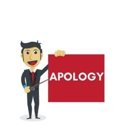 How to apologize for late response